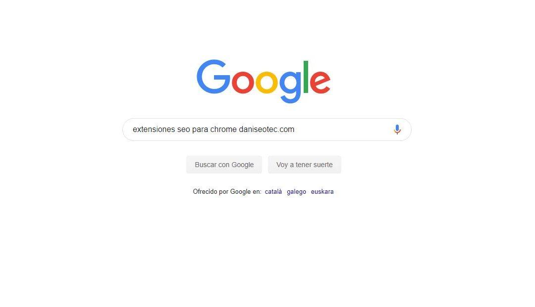 Extensiones Chrome que te ayudarán con tu SEO